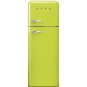 SMEG上冷冻双开门冰箱50's style系列lime green外观
