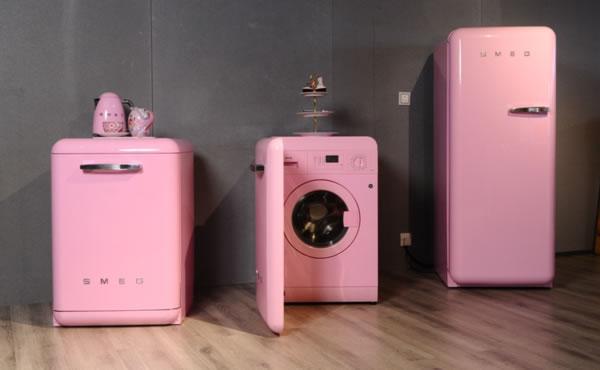 smeg粉色系列